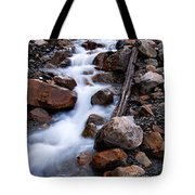 Glacial Stream Tote Bag
