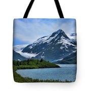 Glacier Alaska Lake  Tote Bag