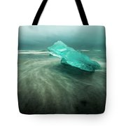 Glacier Beach Tote Bag