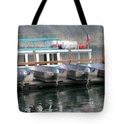 Glacier Boating Tote Bag