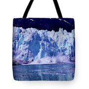 Glacier - Calving - Reflection Tote Bag