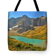 Glacier Cracker Lake Panorama Tote Bag