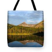 Glacier - Fishercap - Reflection Tote Bag