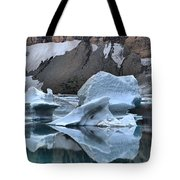Glacier Iceberg Reflections Tote Bag