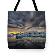 Glacier Lagoon Tote Bag