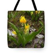 Glacier Lily 3 Tote Bag