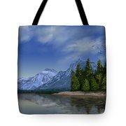 Glacier Naional Park Tote Bag