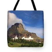 Glacier National Park At Logan Pass Tote Bag