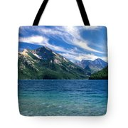 Glacier National Park Tote Bag