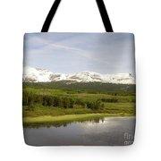 Glacier National Park Scenic Tote Bag