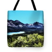 Glacier National Park Views Panorama No. 01 Tote Bag