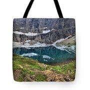 Glacier Paradise Tote Bag