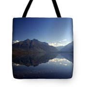 Glacier Reflections 2 Tote Bag