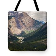 Glacier Road Tote Bag by Stuart Deacon
