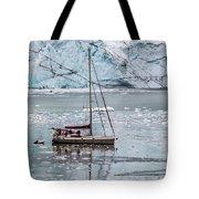 Glacier Sailing Tote Bag