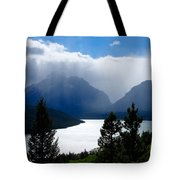 Glacier Showers Tote Bag