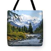Glacier Stream Tote Bag