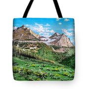 Glacier Summer Tote Bag
