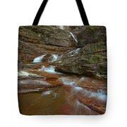 Glacier Virginia Falls Cascades Tote Bag