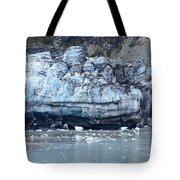 Glacier With Kayakers Tote Bag