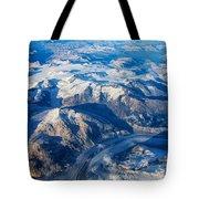 Glaciers In The Coast Range British Columbia Canada Tote Bag by Mary Lee Dereske