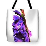 Glad I'm Purple Tote Bag