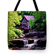 Glade Creek Grist Mill 004 Tote Bag