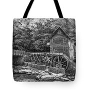 Glade Creek Grist Mill 2 Bw Tote Bag