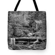 Glade Creek Grist Mill 3 Bw Tote Bag