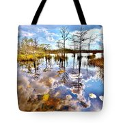 Glades Reflective 1 Tote Bag