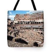 Gladiators And Christians Tote Bag