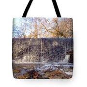 Gladwyne - Dove Lake Waterfall Panorama Tote Bag