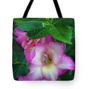 Gladys Blooms In A Blueberry Bush Tote Bag