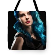 Glamorous Hollywood Style Woman Tote Bag