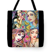 Glamorous India Tote Bag