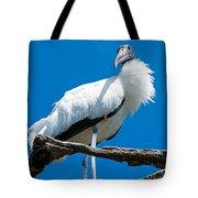 Glamorous Wood Stork Tote Bag