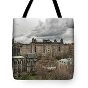 Glasgow Cathedral And Victoria Infirmary Tote Bag