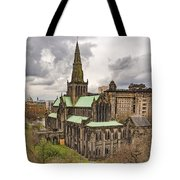 Glasgow Cathedral From The Necropolis Tote Bag