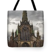 Glasgow Cathedral Front Entrance Tote Bag