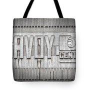 Glasgow Savoy Centre Tote Bag