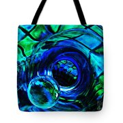 Glass Abstract 226 Tote Bag by Sarah Loft
