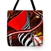 Glass Abstract 500 Tote Bag