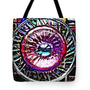 Glass Abstract 516 Tote Bag