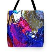 Glass Abstract 609 Tote Bag