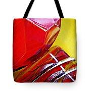 Glass Abstract 649 Tote Bag