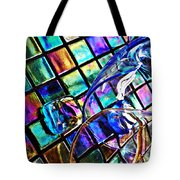 Glass Abstract 696 Tote Bag