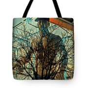Glass And Branches  Tote Bag