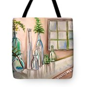 Glass And Ferns Tote Bag
