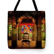 Glass And Mirror Room City Palace Udaipur Tote Bag