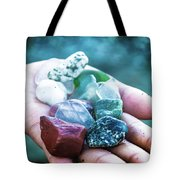 Glass And Stone Tote Bag